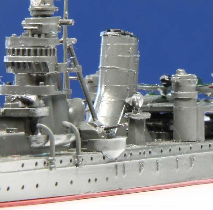 軽巡洋艦阿賀野の艦橋