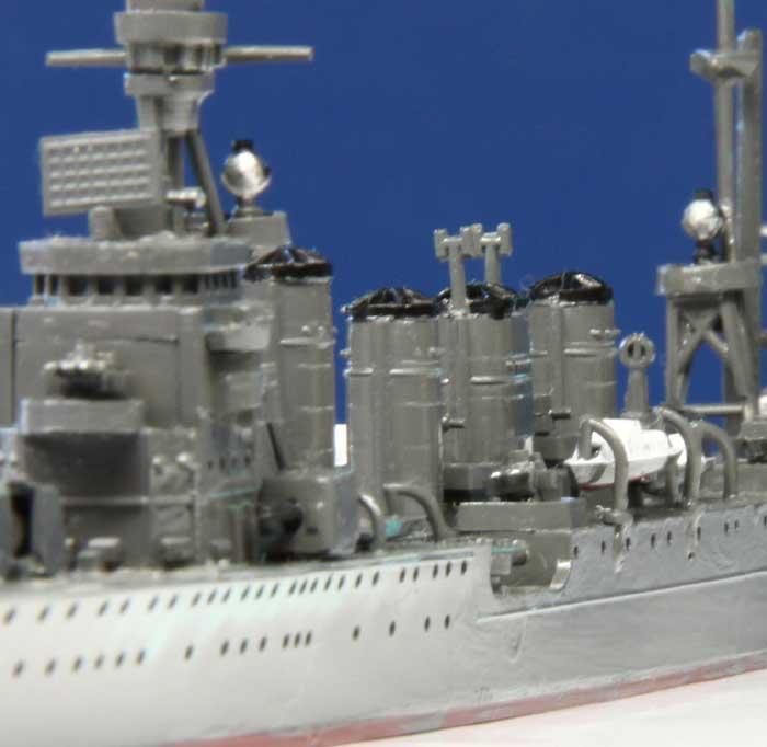 軽巡洋艦神通の艦橋